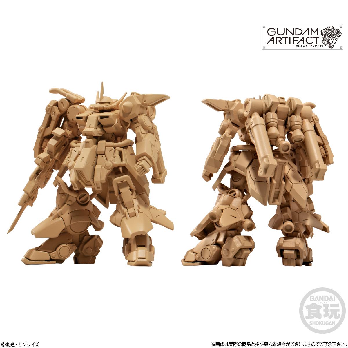 【食玩】機動戦士ガンダム『ガンダムアーティファクト 第2弾』プラ製ミニキット 10個入りBOX-005