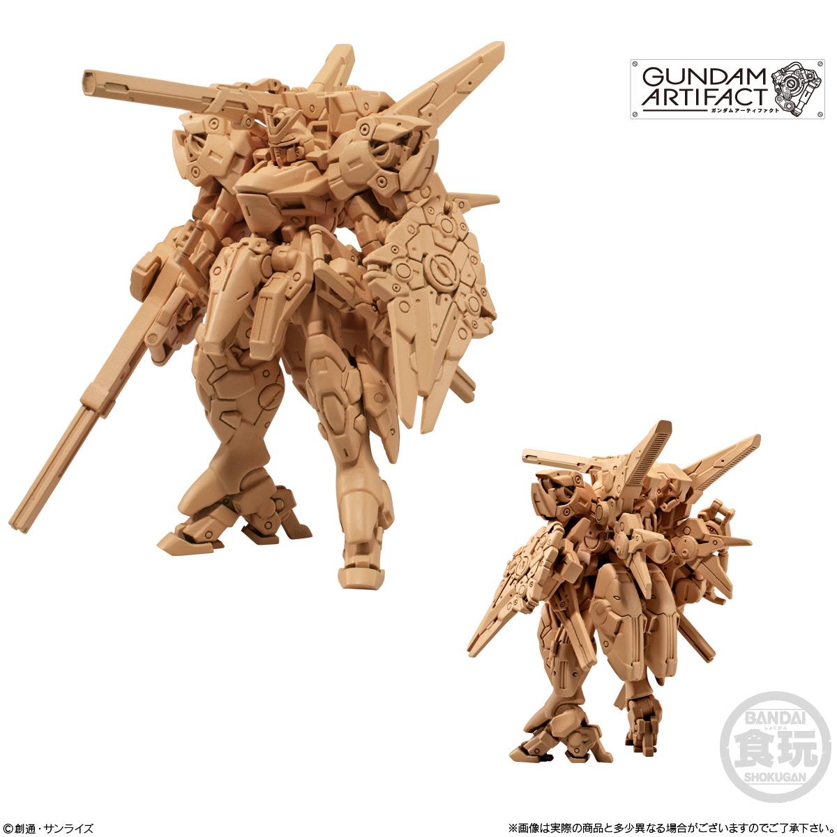 【食玩】機動戦士ガンダム『ガンダムアーティファクト 第2弾』プラ製ミニキット 10個入りBOX-006