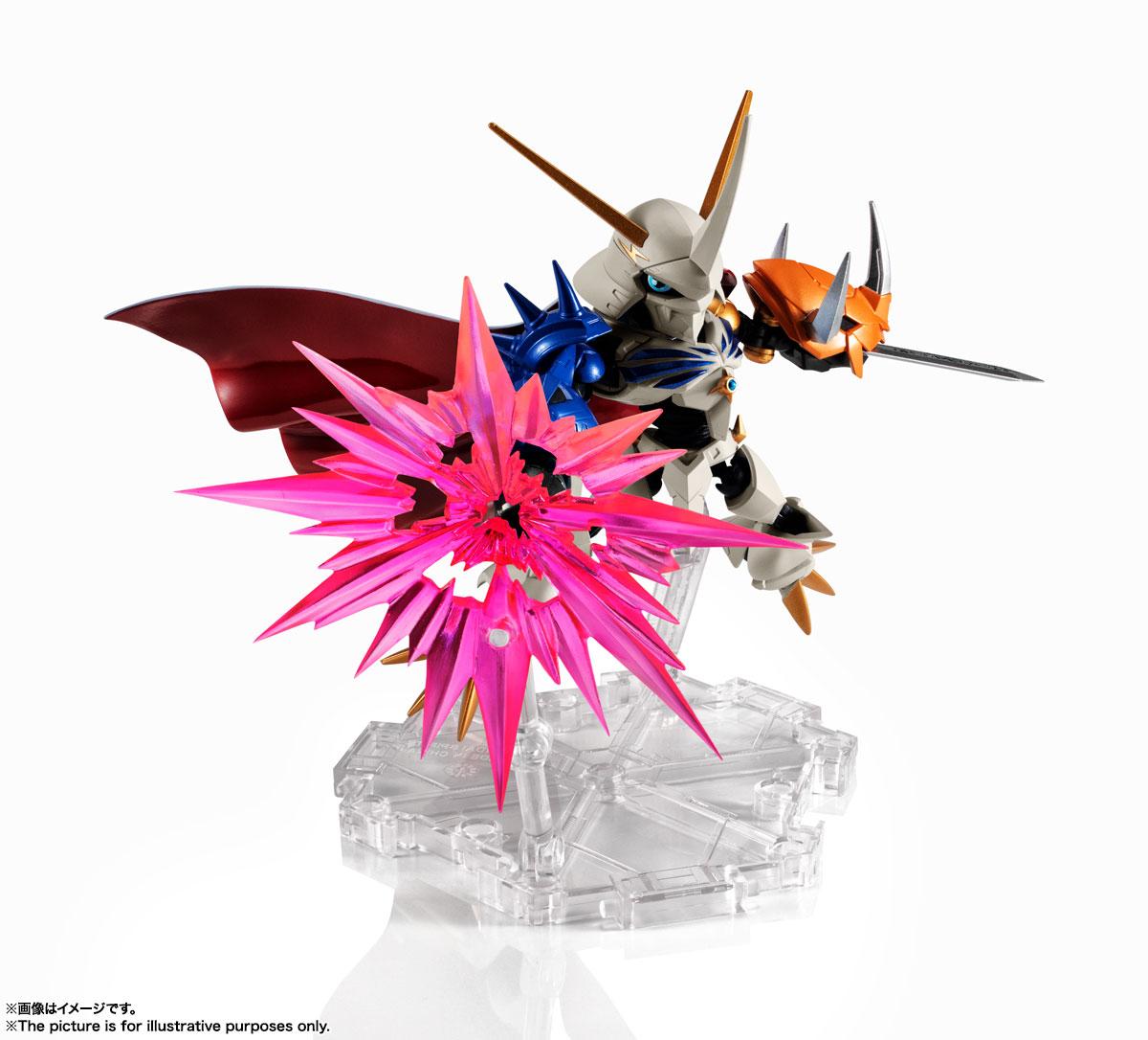 NXEDGE STYLE[DIGIMON UNIT]『オメガモン -Special Color Ver.-』デジモンアドベンチャー デフォルメ可動フィギュア-005