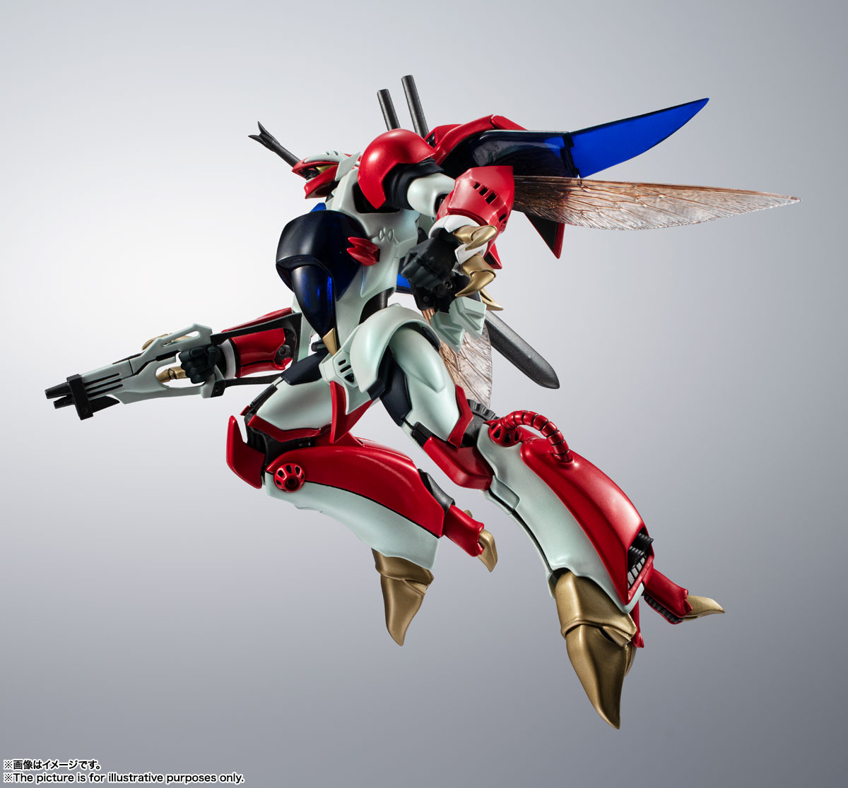 METAL ROBOT魂〈SIDE AB〉『ビルバイン』聖戦士ダンバイン 可変可動フィギュア-001
