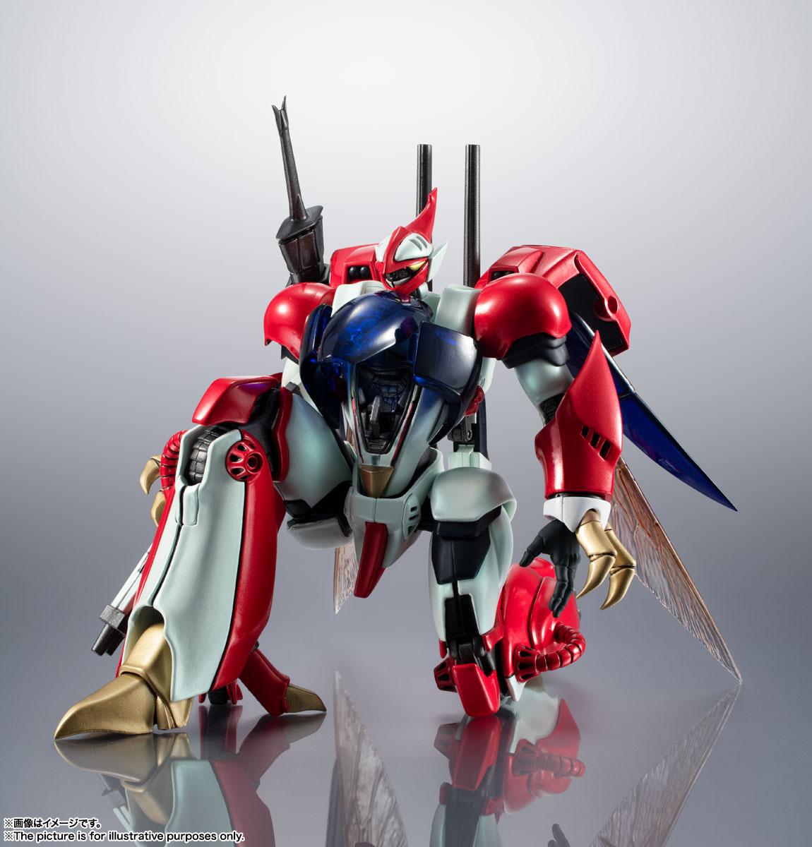 METAL ROBOT魂〈SIDE AB〉『ビルバイン』聖戦士ダンバイン 可変可動フィギュア-004