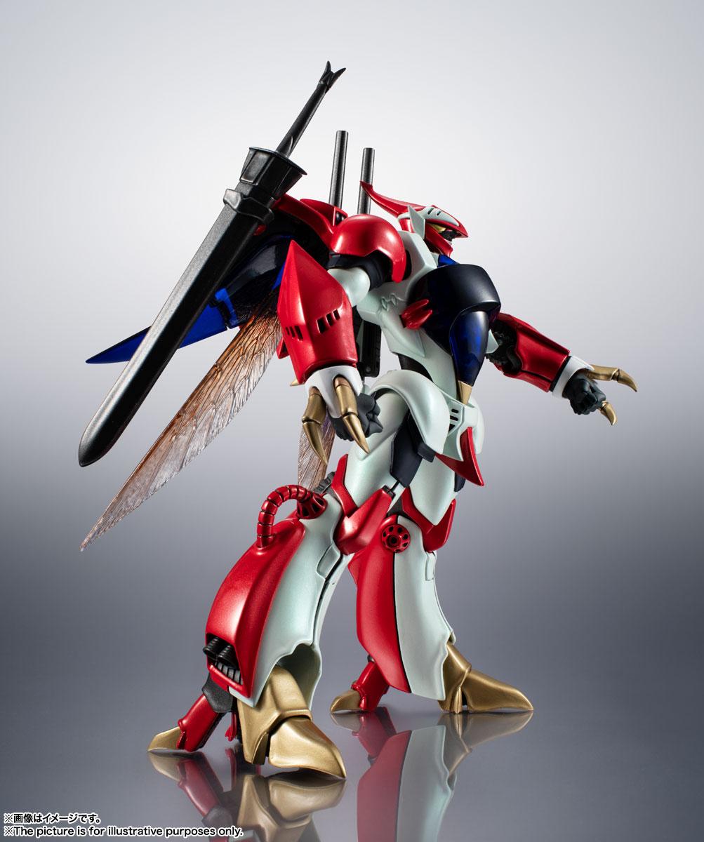 METAL ROBOT魂〈SIDE AB〉『ビルバイン』聖戦士ダンバイン 可変可動フィギュア-005