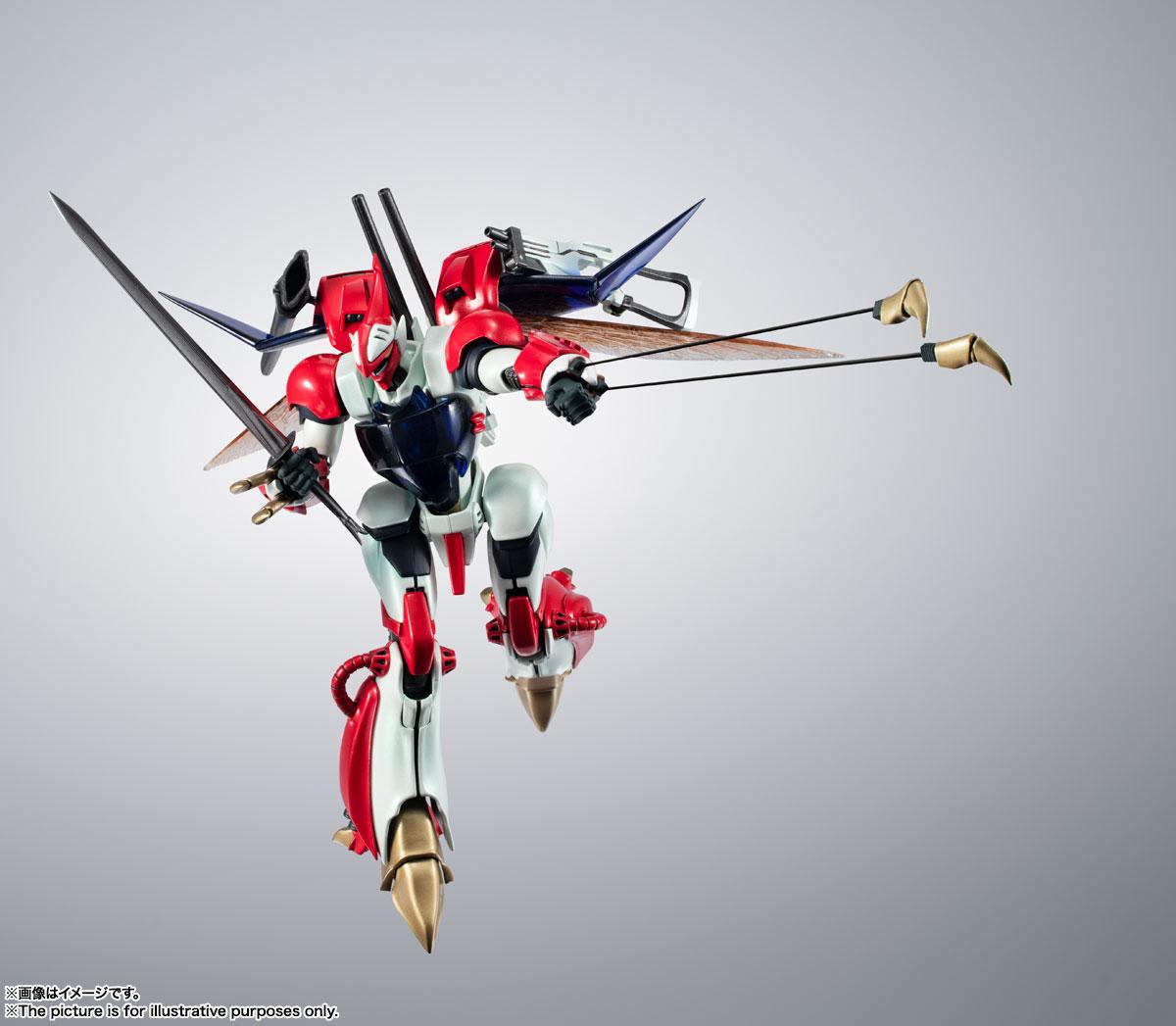 METAL ROBOT魂〈SIDE AB〉『ビルバイン』聖戦士ダンバイン 可変可動フィギュア-008