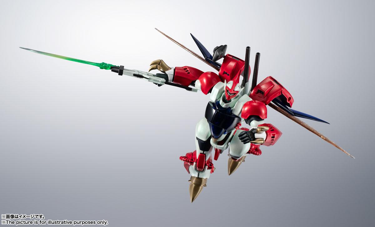 METAL ROBOT魂〈SIDE AB〉『ビルバイン』聖戦士ダンバイン 可変可動フィギュア-009