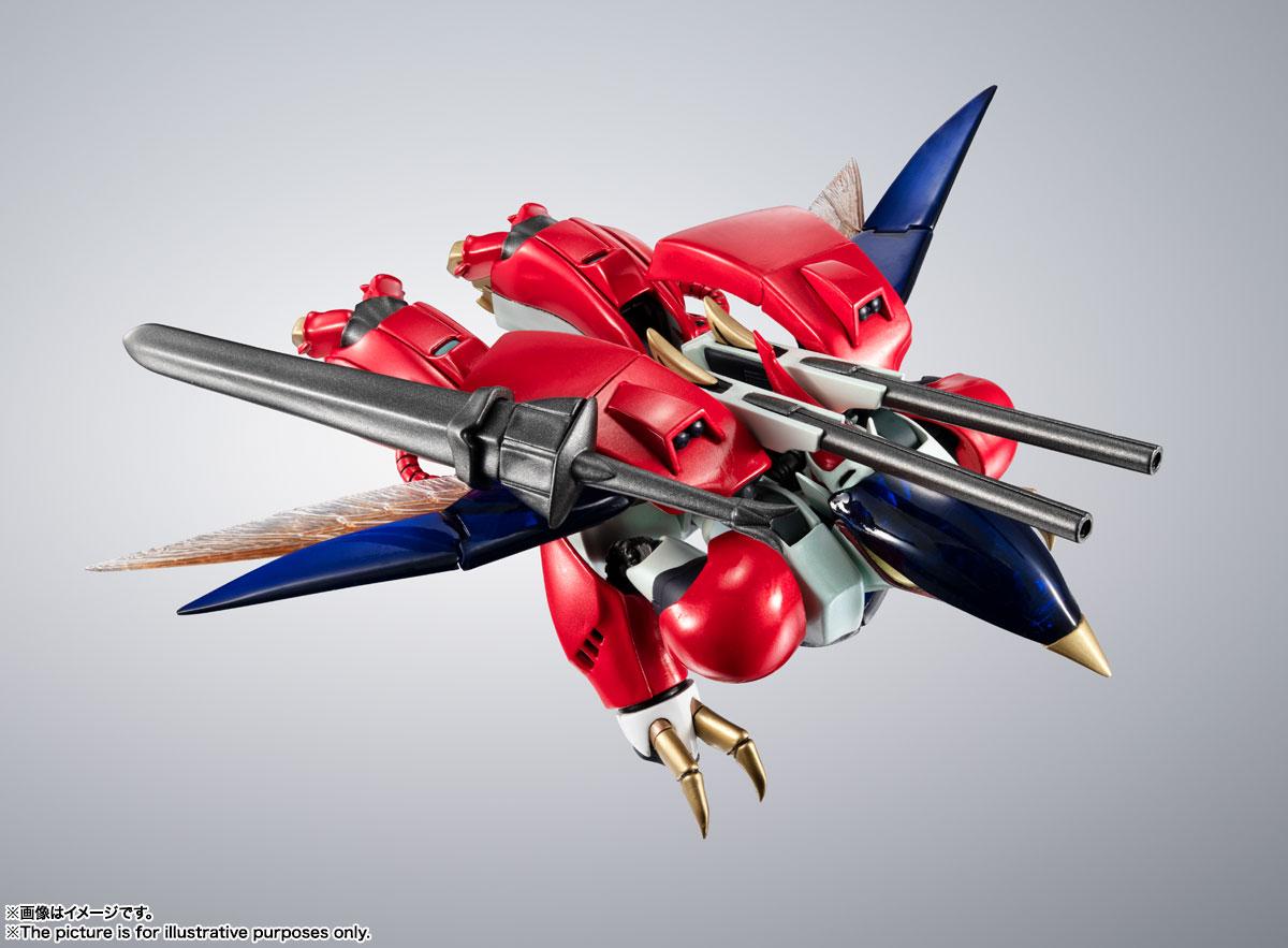 METAL ROBOT魂〈SIDE AB〉『ビルバイン』聖戦士ダンバイン 可変可動フィギュア-012