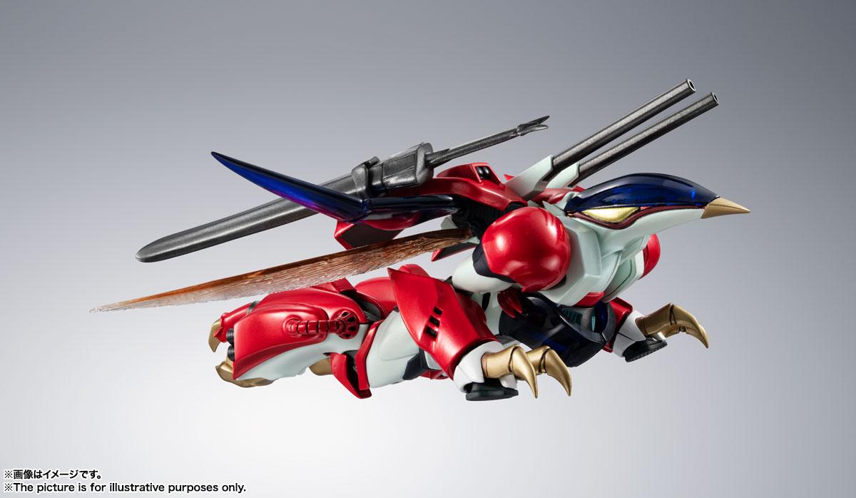 METAL ROBOT魂〈SIDE AB〉『ビルバイン』聖戦士ダンバイン 可変可動フィギュア-013