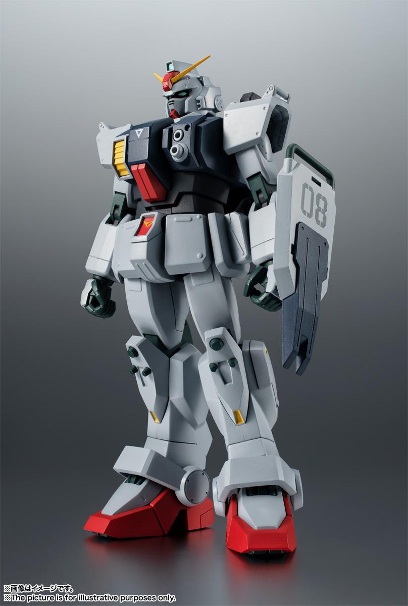 ROBOT魂〈SIDE MS〉『RX-79(G)陸戦型ガンダム ver. A.N.I.M.E.』機動戦士ガンダム 第08MS小隊 可動フィギュア-001