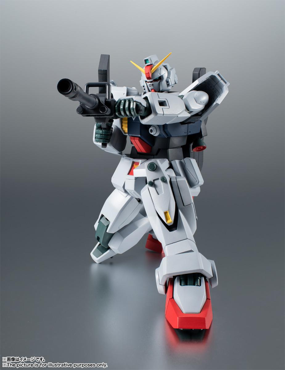 ROBOT魂〈SIDE MS〉『RX-79(G)陸戦型ガンダム ver. A.N.I.M.E.』機動戦士ガンダム 第08MS小隊 可動フィギュア-004