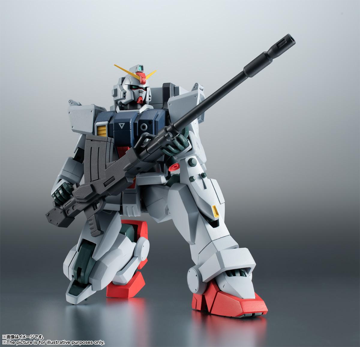 ROBOT魂〈SIDE MS〉『RX-79(G)陸戦型ガンダム ver. A.N.I.M.E.』機動戦士ガンダム 第08MS小隊 可動フィギュア-005