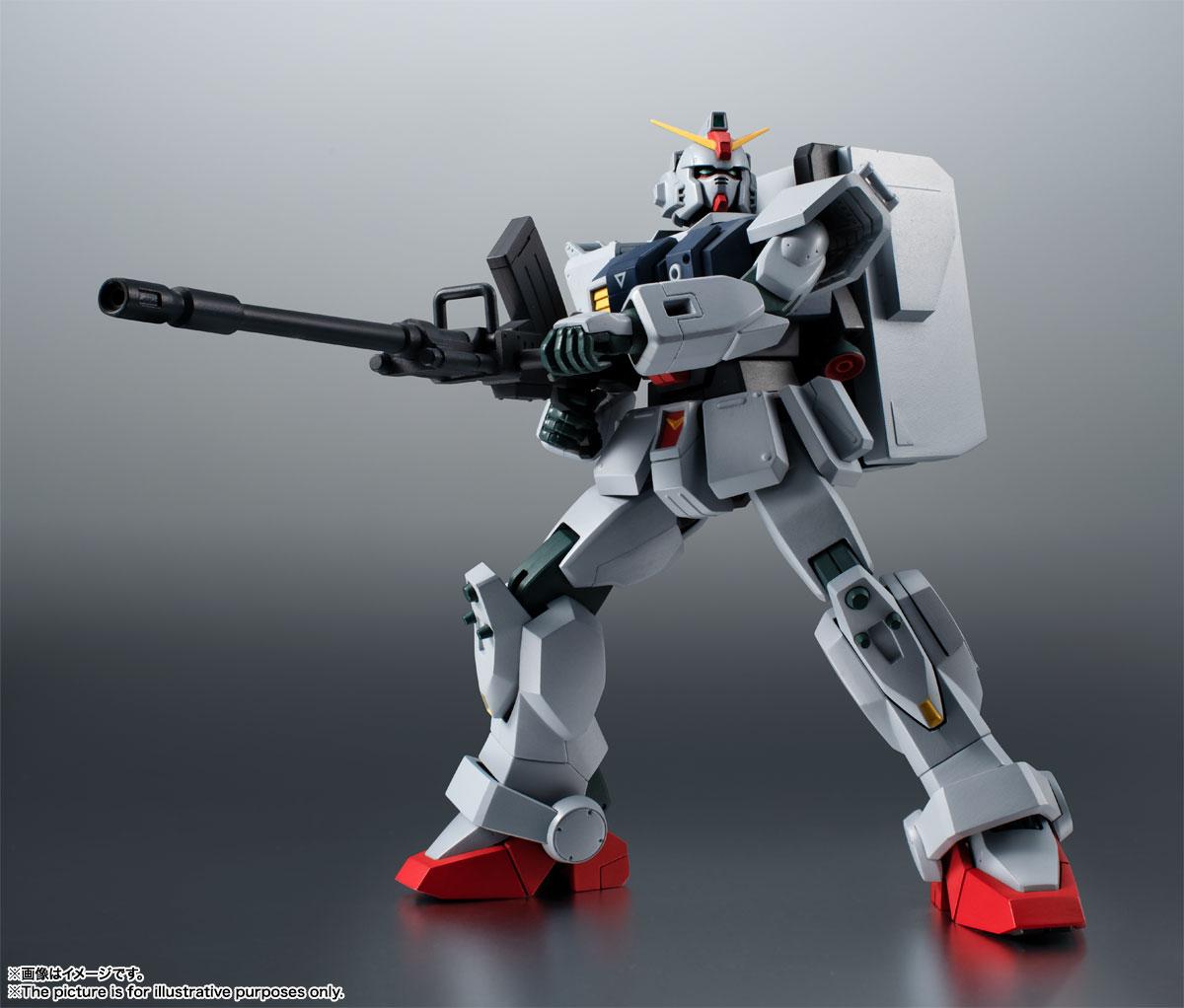 ROBOT魂〈SIDE MS〉『RX-79(G)陸戦型ガンダム ver. A.N.I.M.E.』機動戦士ガンダム 第08MS小隊 可動フィギュア-006