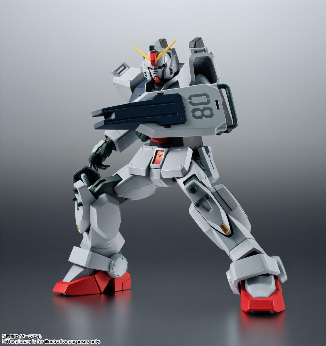 ROBOT魂〈SIDE MS〉『RX-79(G)陸戦型ガンダム ver. A.N.I.M.E.』機動戦士ガンダム 第08MS小隊 可動フィギュア-007