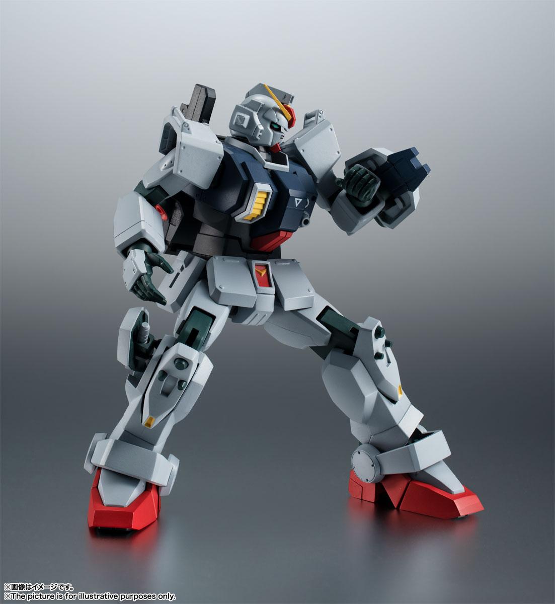 ROBOT魂〈SIDE MS〉『RX-79(G)陸戦型ガンダム ver. A.N.I.M.E.』機動戦士ガンダム 第08MS小隊 可動フィギュア-008