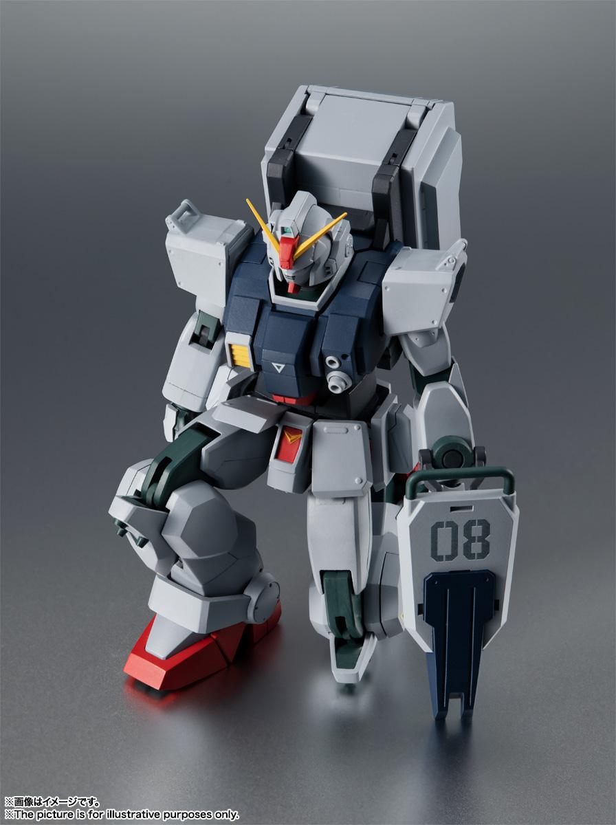 ROBOT魂〈SIDE MS〉『RX-79(G)陸戦型ガンダム ver. A.N.I.M.E.』機動戦士ガンダム 第08MS小隊 可動フィギュア-009
