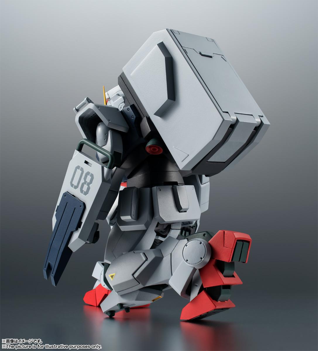 ROBOT魂〈SIDE MS〉『RX-79(G)陸戦型ガンダム ver. A.N.I.M.E.』機動戦士ガンダム 第08MS小隊 可動フィギュア-010