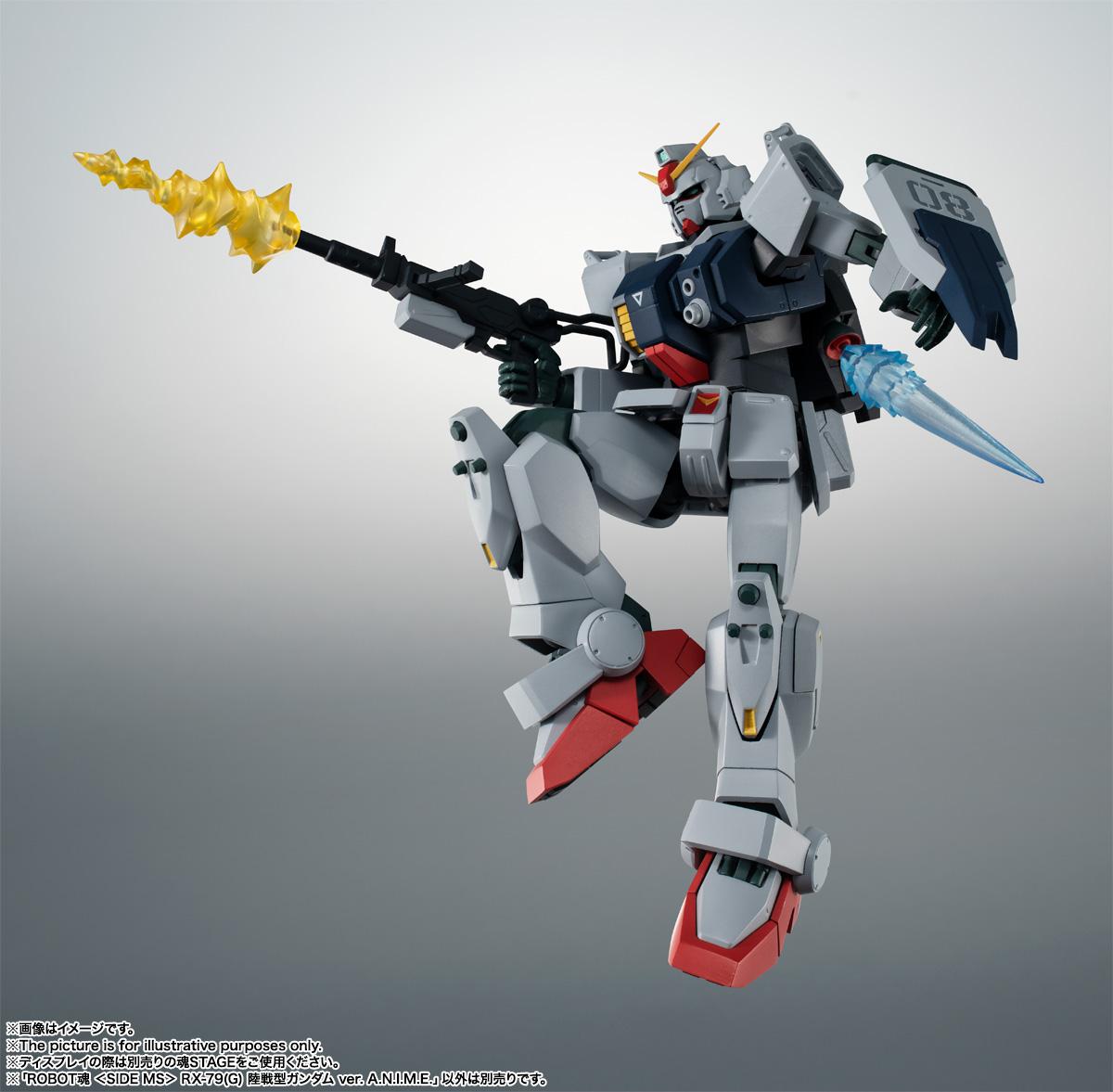 ROBOT魂〈SIDE MS〉『RX-79(G)陸戦型ガンダム ver. A.N.I.M.E.』機動戦士ガンダム 第08MS小隊 可動フィギュア-012