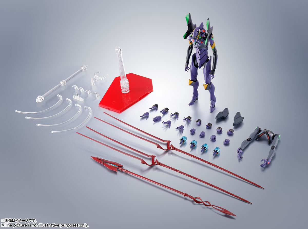 ROBOT魂〈SIDE EVA〉『エヴァンゲリオン第13号機』シン・エヴァンゲリオン劇場版 可動フィギュア-012
