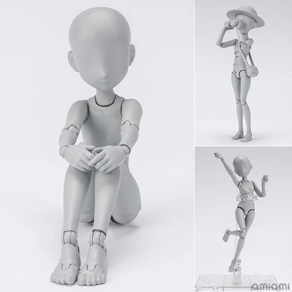 S.H.Figuarts『ボディちゃん -杉森建- Edition DX SET (Gray Color Ver.)』可動フィギュア