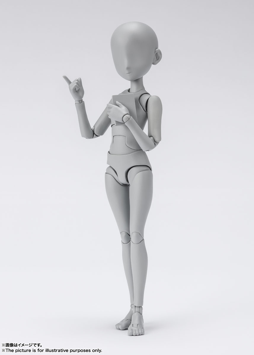 S.H.Figuarts『ボディちゃん -杉森建- Edition DX SET (Gray Color Ver.)』可動フィギュア-002