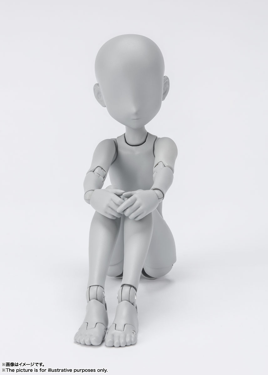 S.H.Figuarts『ボディちゃん -杉森建- Edition DX SET (Gray Color Ver.)』可動フィギュア-004