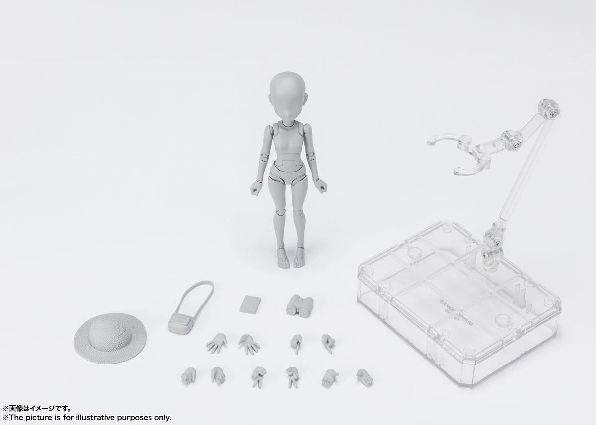 S.H.Figuarts『ボディちゃん -杉森建- Edition DX SET (Gray Color Ver.)』可動フィギュア-006
