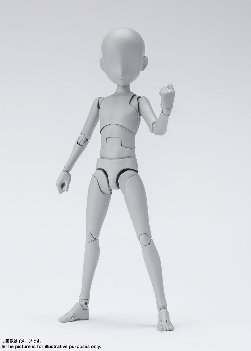 S.H.Figuarts『ボディちゃん -杉森建- Edition DX SET (Gray Color Ver.)』可動フィギュア-008