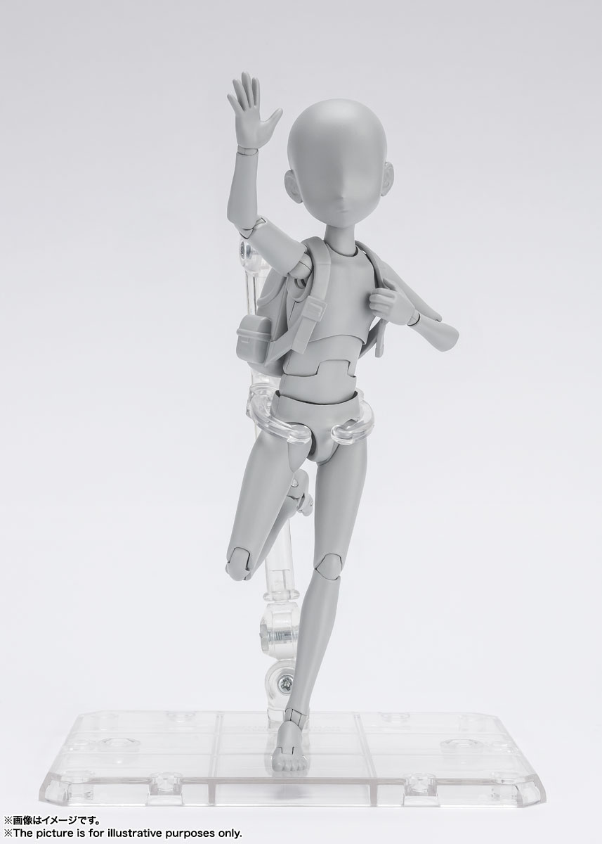 S.H.Figuarts『ボディちゃん -杉森建- Edition DX SET (Gray Color Ver.)』可動フィギュア-009