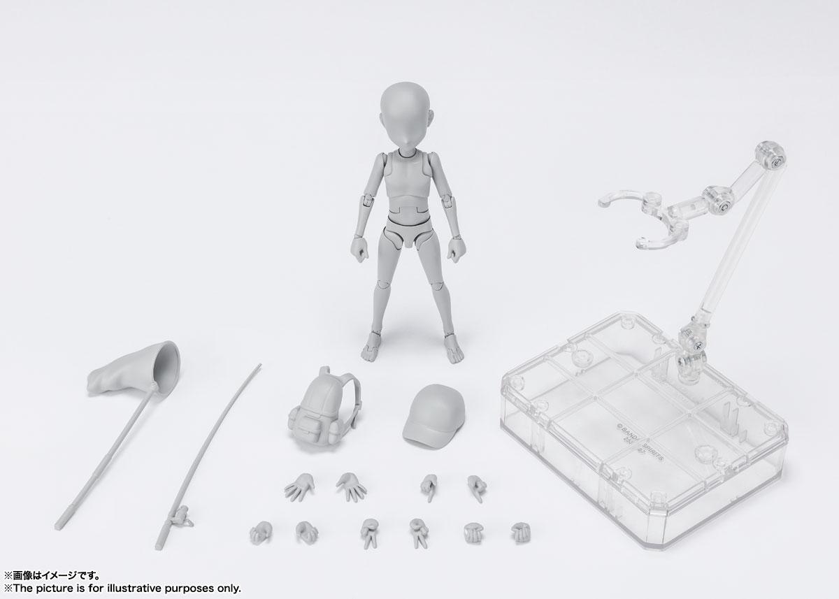 S.H.Figuarts『ボディちゃん -杉森建- Edition DX SET (Gray Color Ver.)』可動フィギュア-011