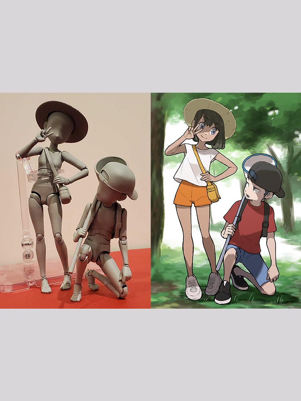 S.H.Figuarts『ボディちゃん -杉森建- Edition DX SET (Gray Color Ver.)』可動フィギュア-012