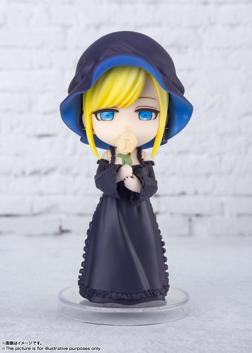 Figuarts mini『アリス 』死神坊ちゃんと黒メイド デフォルメ可動フィギュア-001