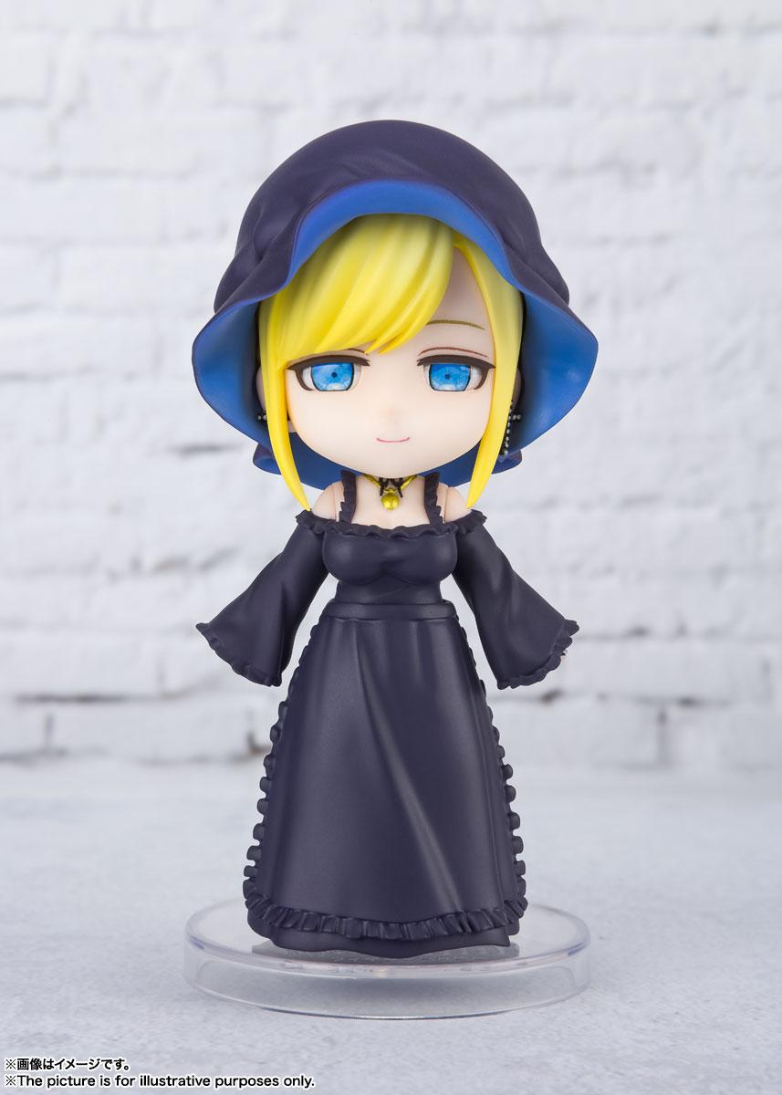Figuarts mini『アリス 』死神坊ちゃんと黒メイド デフォルメ可動フィギュア-002