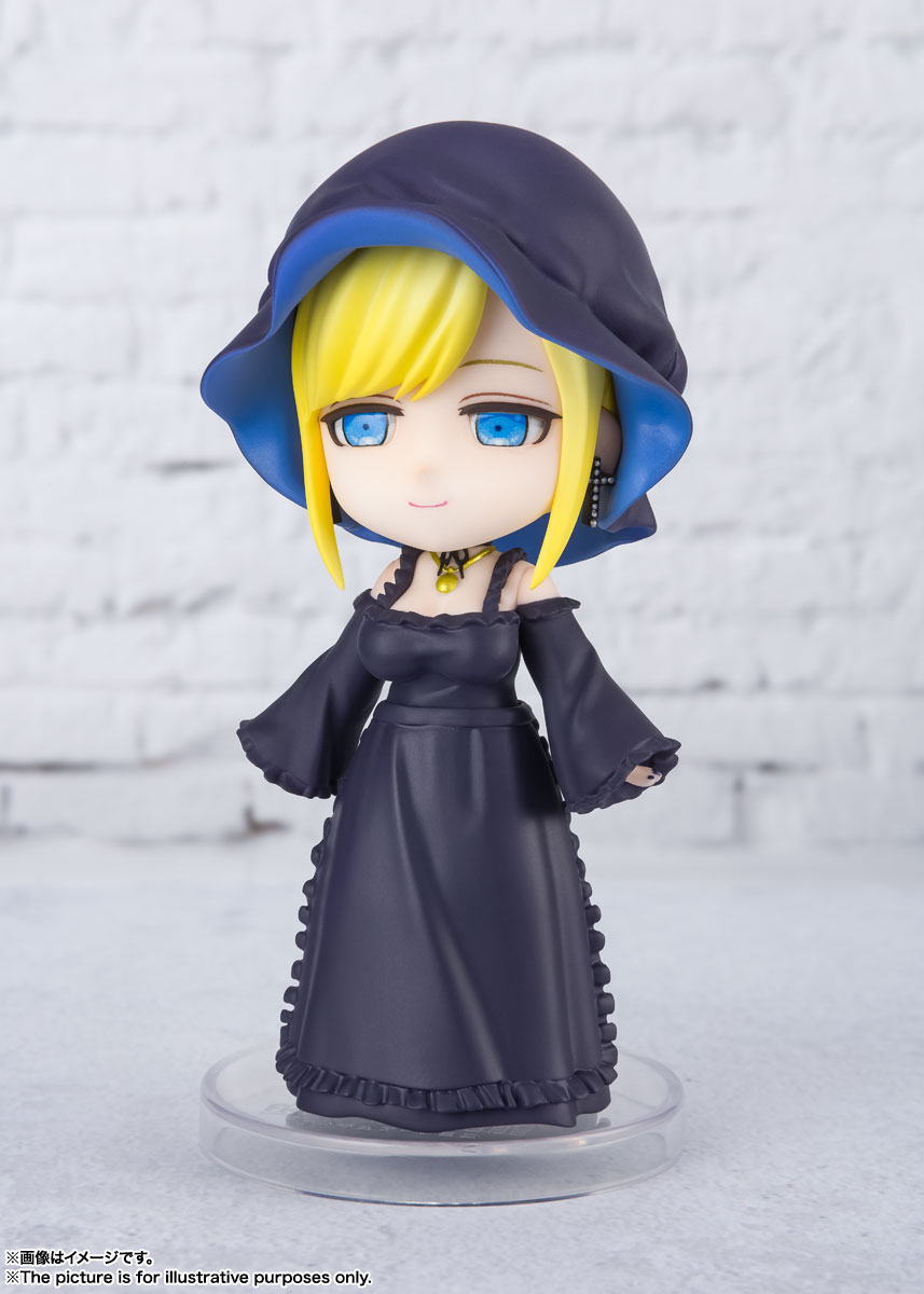 Figuarts mini『アリス 』死神坊ちゃんと黒メイド デフォルメ可動フィギュア-003