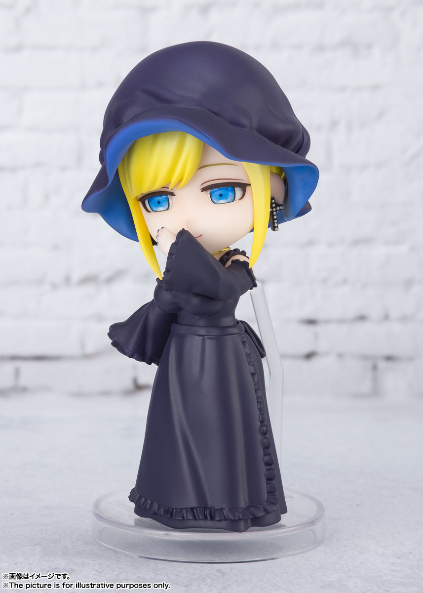Figuarts mini『アリス 』死神坊ちゃんと黒メイド デフォルメ可動フィギュア-004