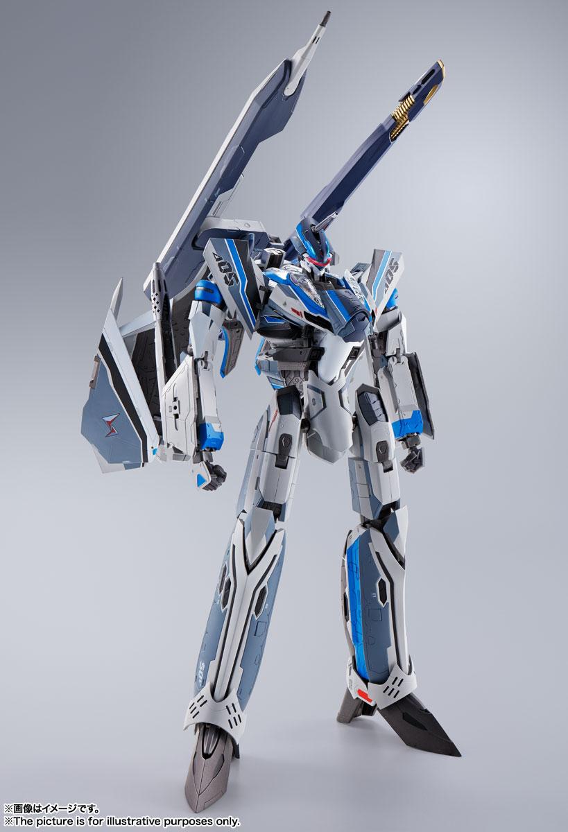 DX超合金『初回限定版 VF-31AX カイロスプラス(ハヤテ・インメルマン機)』マクロスΔ 可変可動フィギュア-001