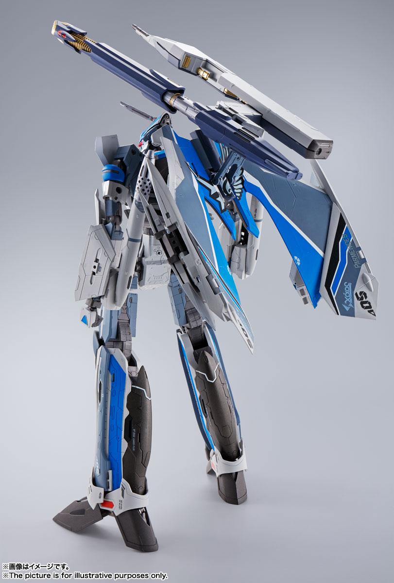 DX超合金『初回限定版 VF-31AX カイロスプラス(ハヤテ・インメルマン機)』マクロスΔ 可変可動フィギュア-002