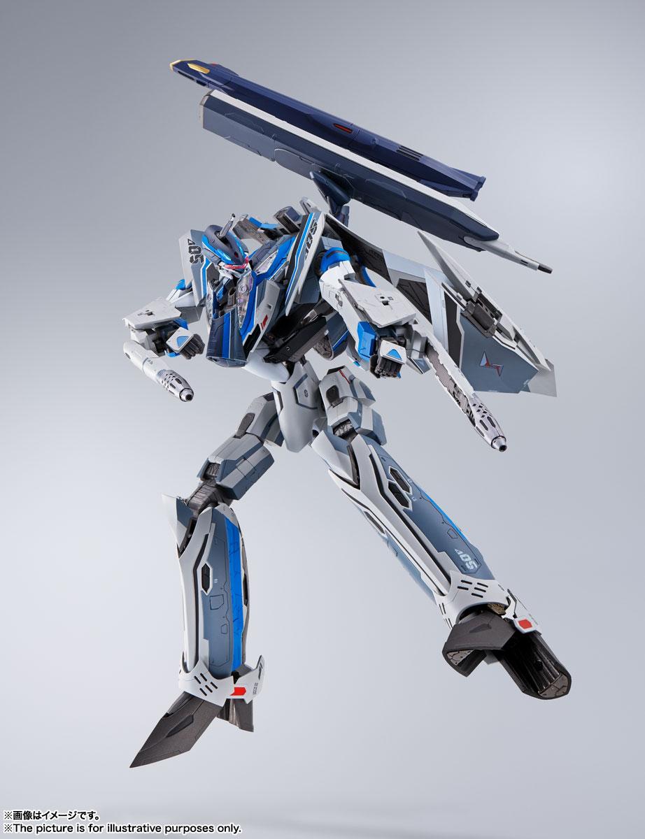DX超合金『初回限定版 VF-31AX カイロスプラス(ハヤテ・インメルマン機)』マクロスΔ 可変可動フィギュア-005