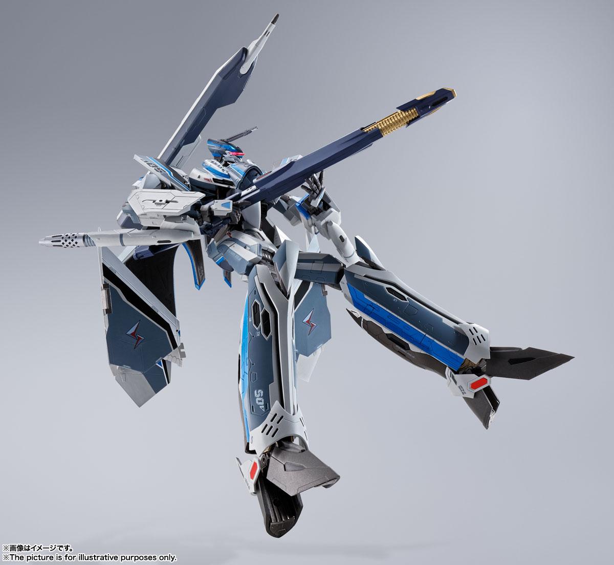 DX超合金『初回限定版 VF-31AX カイロスプラス(ハヤテ・インメルマン機)』マクロスΔ 可変可動フィギュア-006