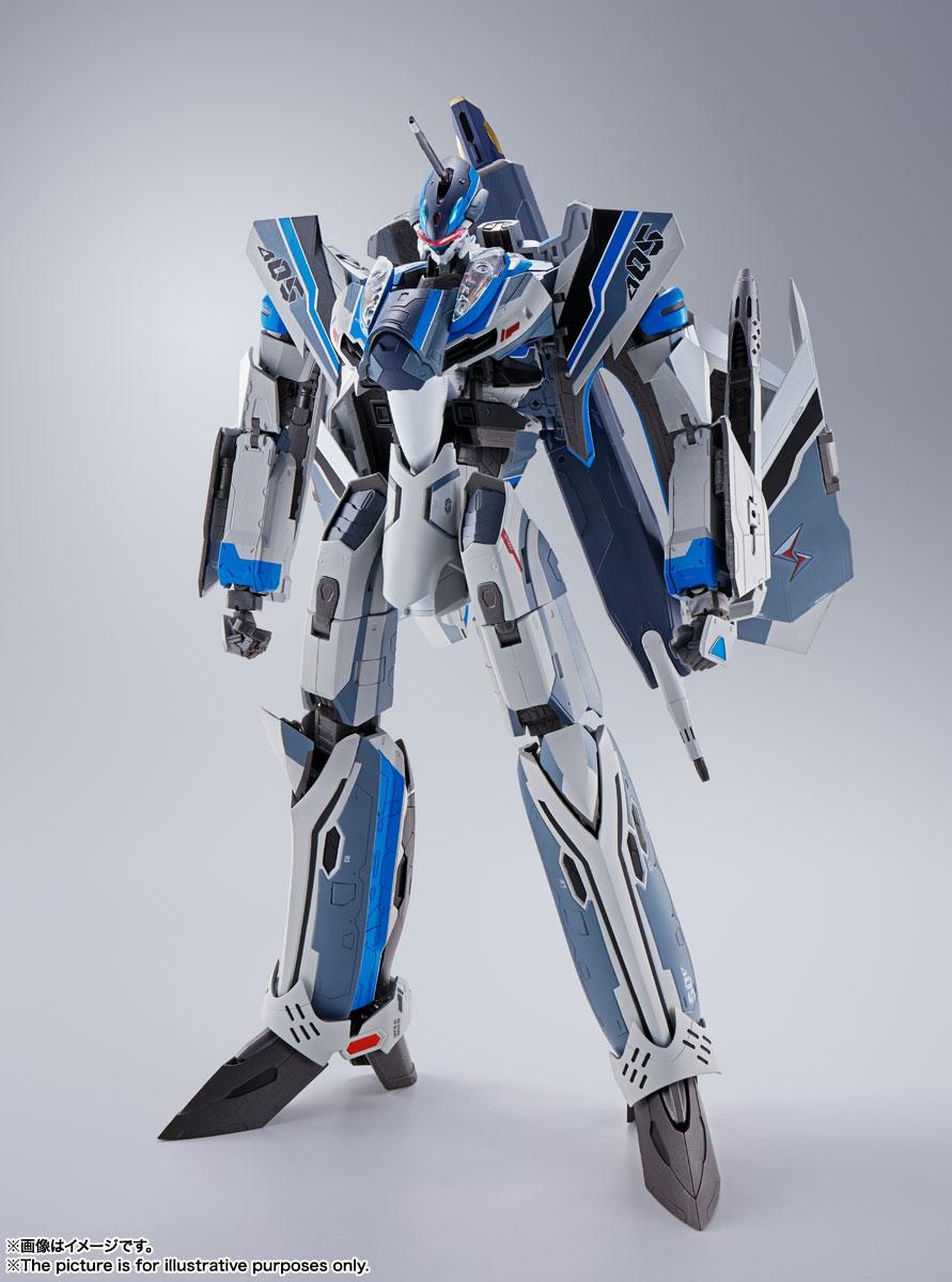 DX超合金『初回限定版 VF-31AX カイロスプラス(ハヤテ・インメルマン機)』マクロスΔ 可変可動フィギュア-007