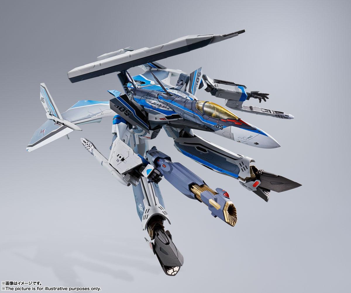 DX超合金『初回限定版 VF-31AX カイロスプラス(ハヤテ・インメルマン機)』マクロスΔ 可変可動フィギュア-010