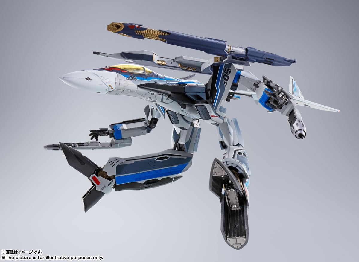 DX超合金『初回限定版 VF-31AX カイロスプラス(ハヤテ・インメルマン機)』マクロスΔ 可変可動フィギュア-011