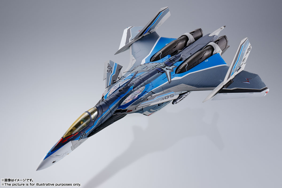 DX超合金『初回限定版 VF-31AX カイロスプラス(ハヤテ・インメルマン機)』マクロスΔ 可変可動フィギュア-012