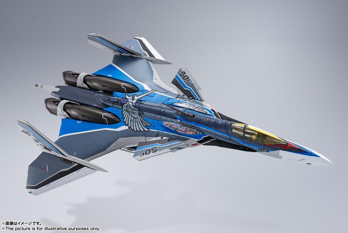 DX超合金『初回限定版 VF-31AX カイロスプラス(ハヤテ・インメルマン機)』マクロスΔ 可変可動フィギュア-013