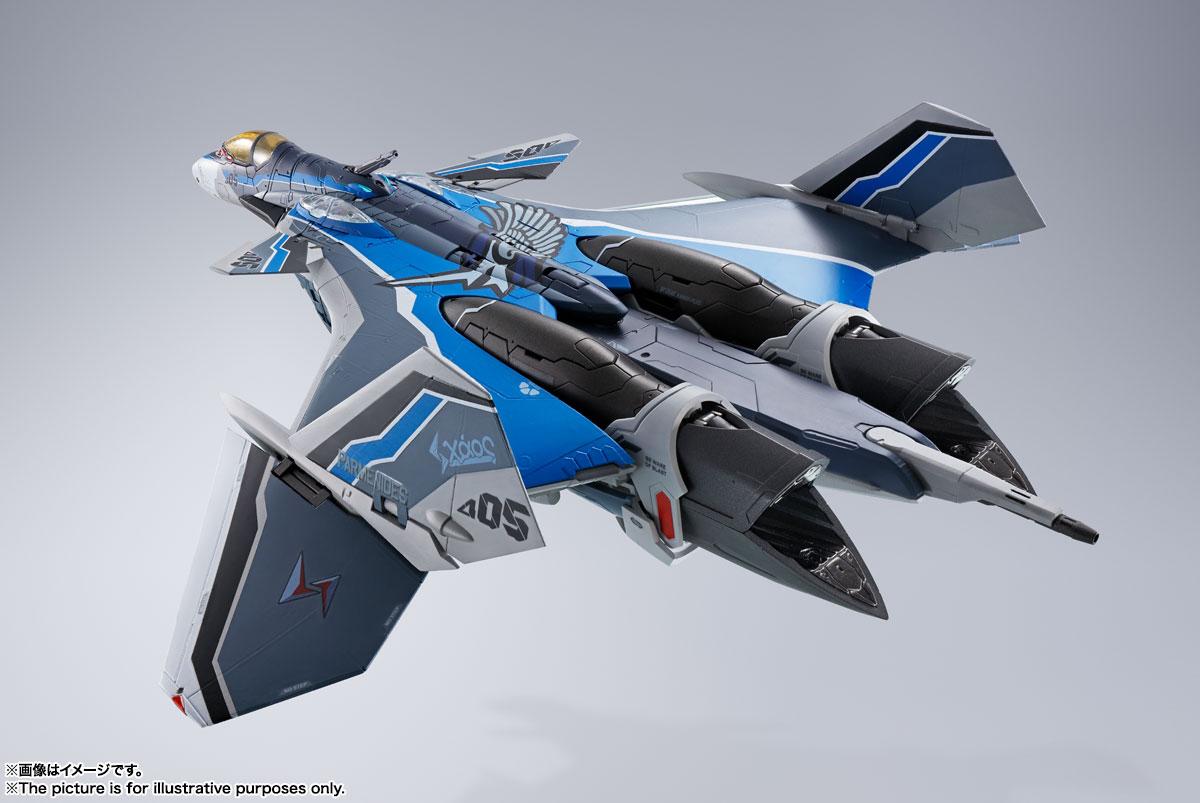 DX超合金『初回限定版 VF-31AX カイロスプラス(ハヤテ・インメルマン機)』マクロスΔ 可変可動フィギュア-014