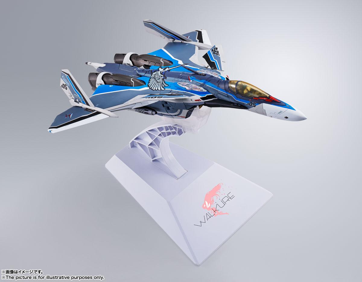 DX超合金『初回限定版 VF-31AX カイロスプラス(ハヤテ・インメルマン機)』マクロスΔ 可変可動フィギュア-015