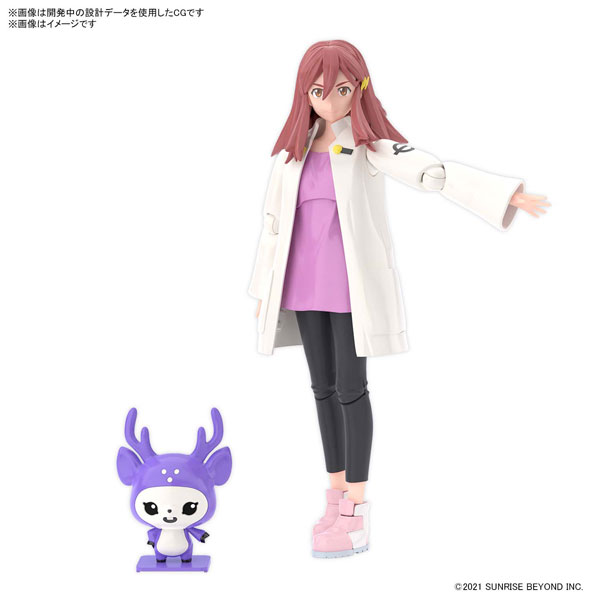 Figure-rise Standard『紫々部シオン』境界戦機 プラモデル