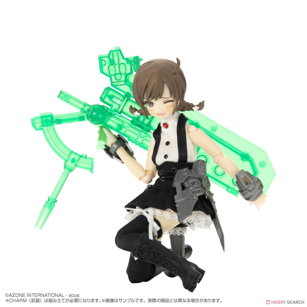 アサルトリリィ No.060『六角汐里 version2.0 プラアーマー仕様』1/12 完成品ドール-004