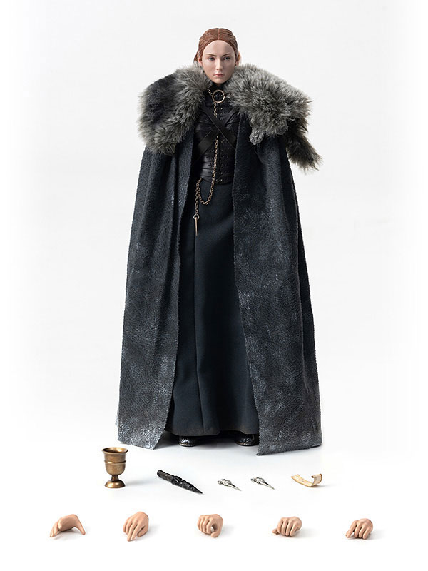 Game of Thrones『サンサ・スターク(Sansa Stark)シーズン8』ゲーム・オブ・スローンズ 1/6 可動フィギュア-002