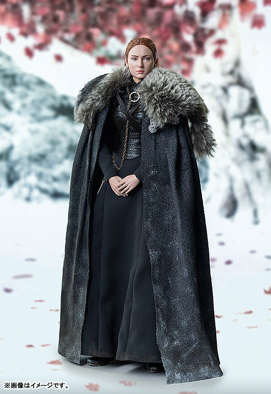 Game of Thrones『サンサ・スターク(Sansa Stark)シーズン8』ゲーム・オブ・スローンズ 1/6 可動フィギュア-003