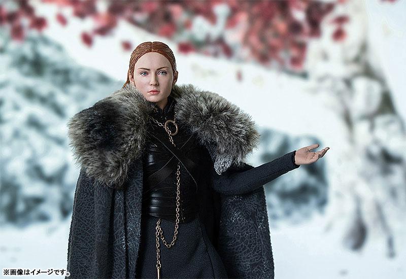 Game of Thrones『サンサ・スターク(Sansa Stark)シーズン8』ゲーム・オブ・スローンズ 1/6 可動フィギュア-004