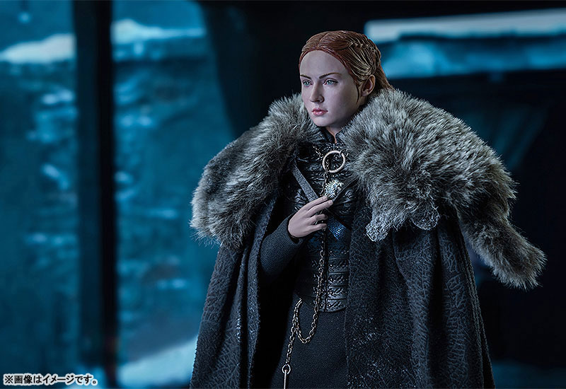 Game of Thrones『サンサ・スターク(Sansa Stark)シーズン8』ゲーム・オブ・スローンズ 1/6 可動フィギュア-005