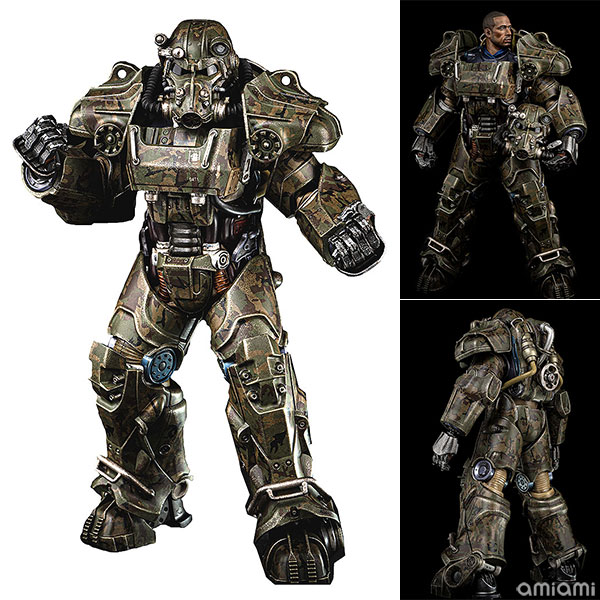 Fallout『T‐60 Camouflage Power Armor(T-60 迷彩パワーアーマー)』フォールアウト 1/6 可動フィギュア